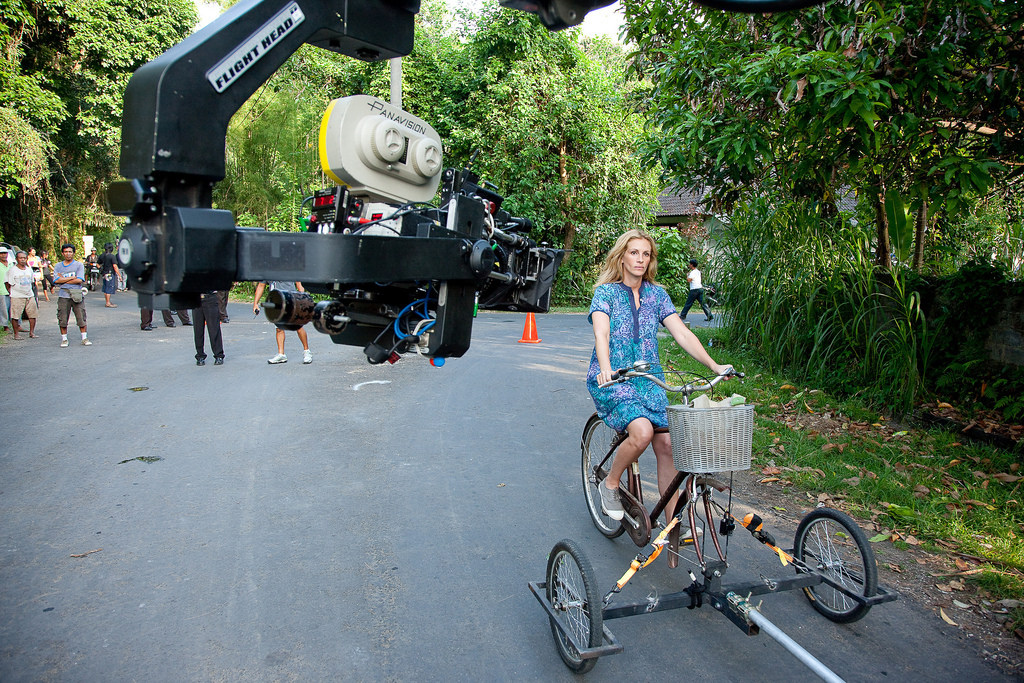 From the Film Eat Pray Love (2010) Behind the Scenes