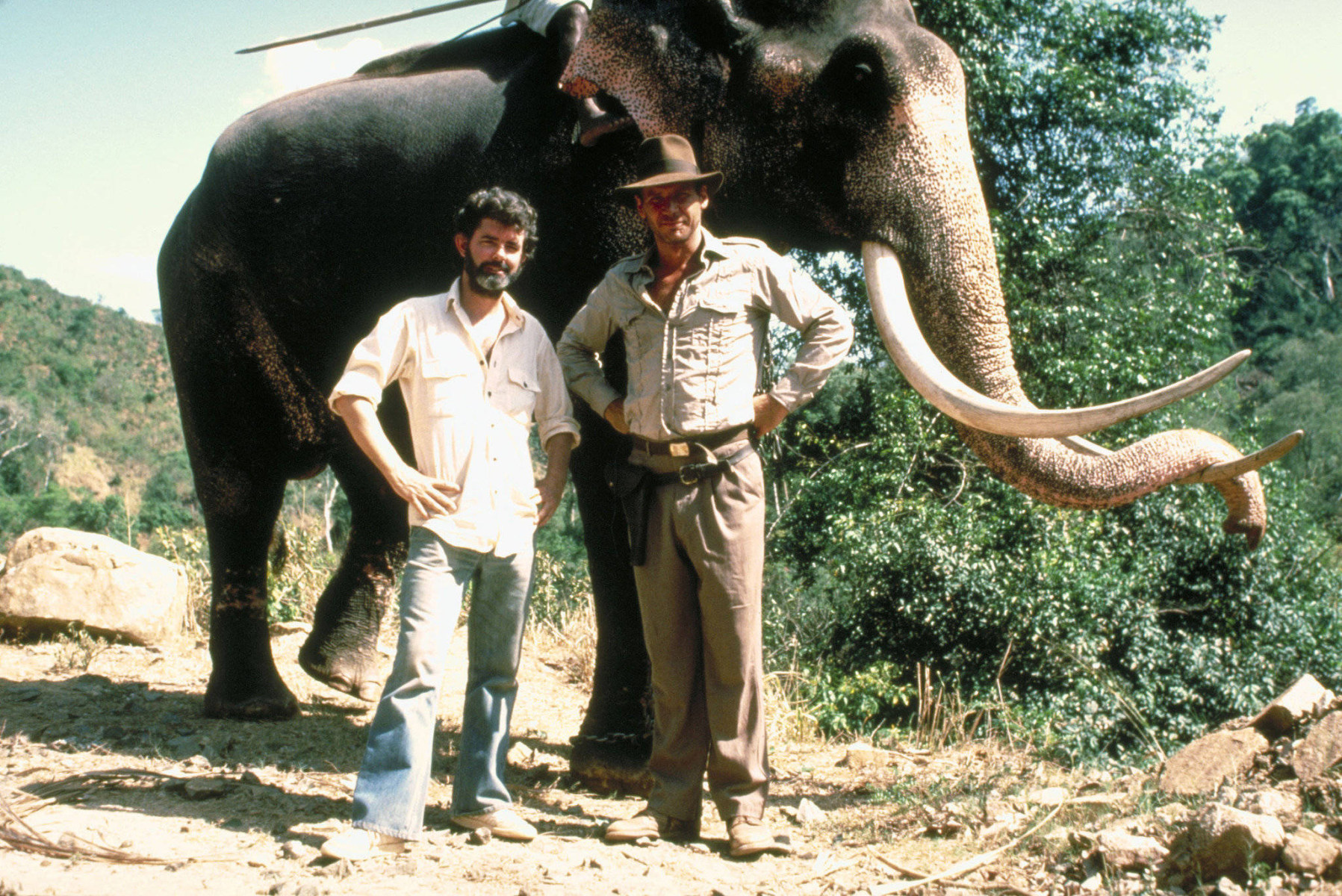 Indiana Jones and the Temple of Doom Behind the Scenes Photos & Tech Specs