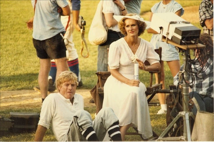 On Set of The Natural (1984) Behind the Scenes