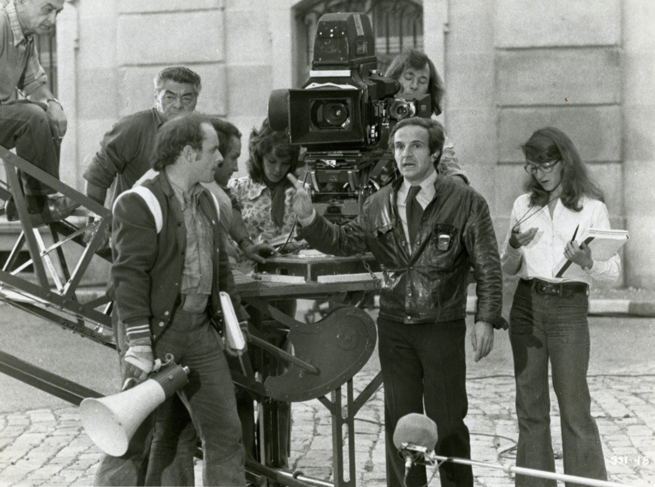François Truffaut Directs Behind the Scenes