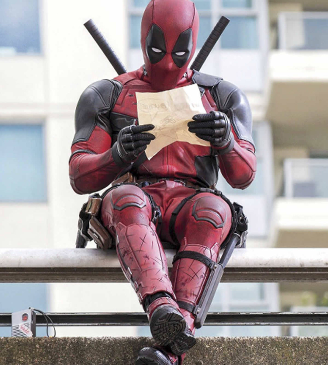 Deadpool Behind the Scenes Photos & Tech Specs