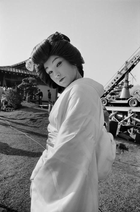 On Set of My Geisha (1962) Behind the Scenes