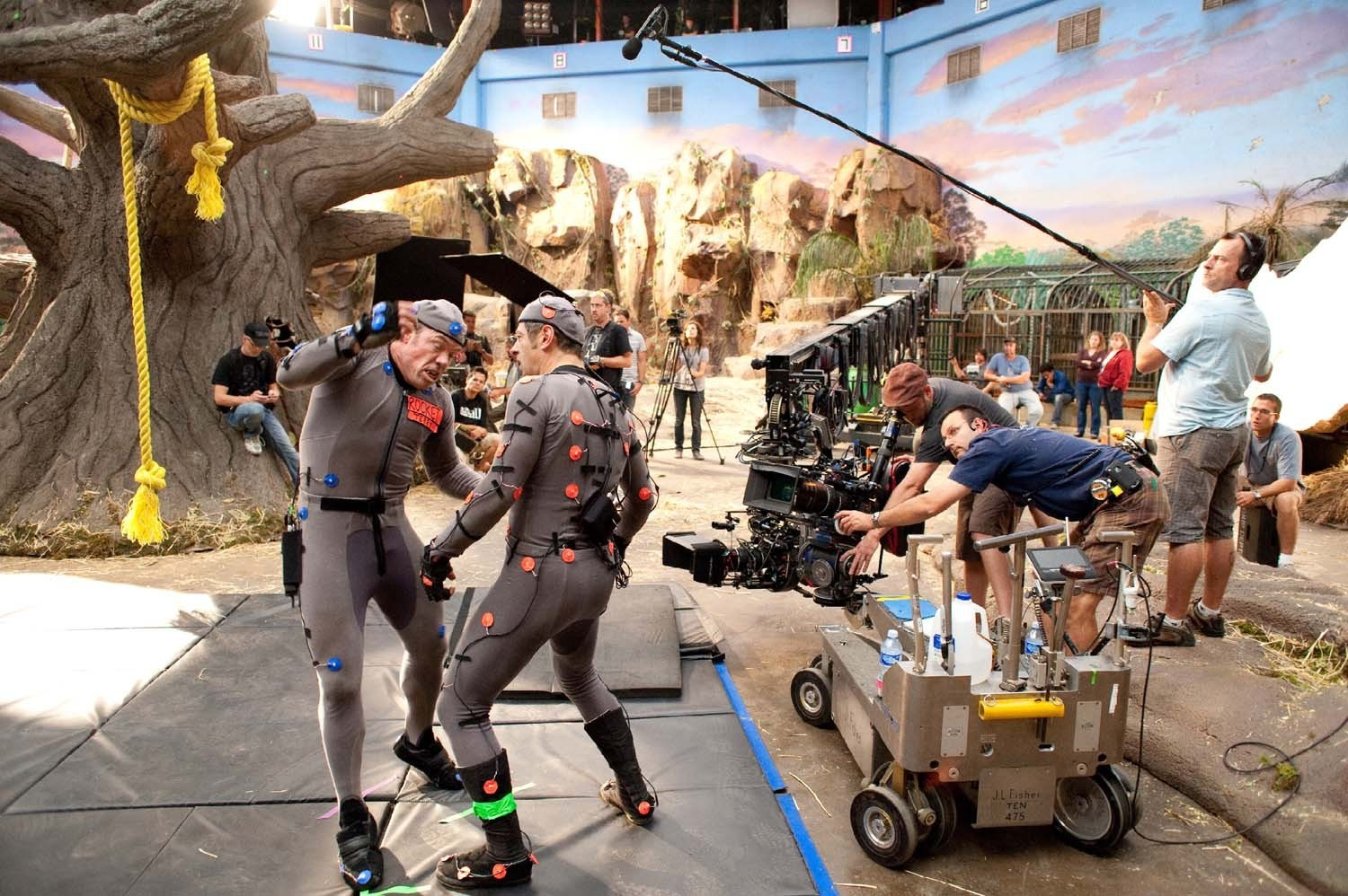 Filming Rise of the Planet of the Apes (2011) Behind the Scenes