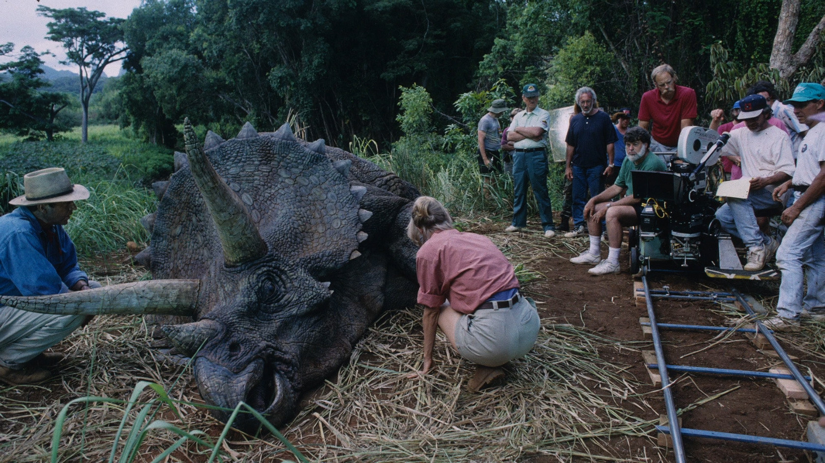 On Set of Jurassic Park (1993) Behind the Scenes