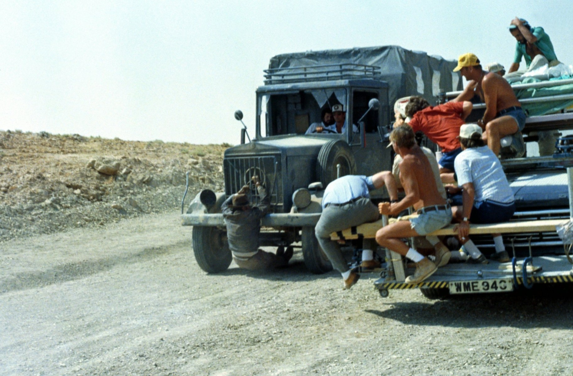 On Location : Raiders of the Lost Ark (1981) Behind the Scenes