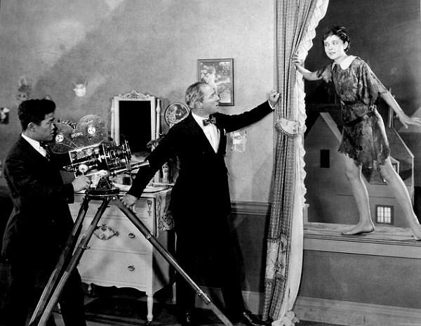 Filming Peter Pan (1924) Behind the Scenes