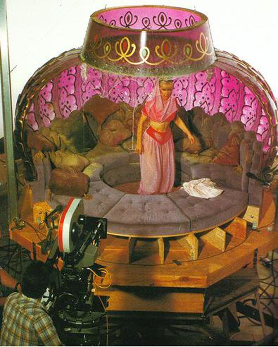 On Set of I Dream of Jeannie (1965) Behind the Scenes