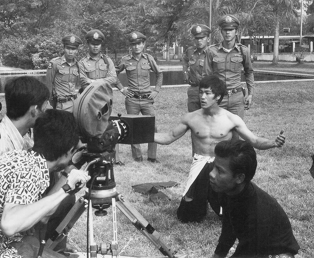 In Loving Memory of Bruce Lee Behind the Scenes