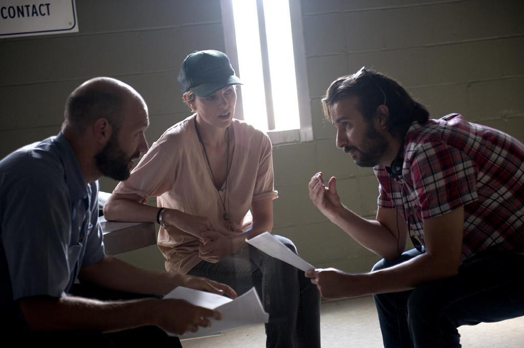 A Discussion At a Dark Place Behind the Scenes