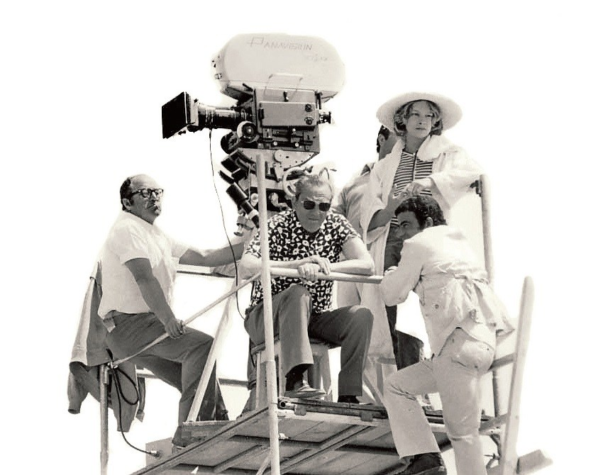 From the Film Death in Venice (1971) Behind the Scenes