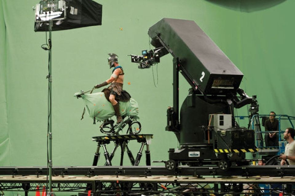 Filming 300: Rise of an Empire (2014) Behind the Scenes