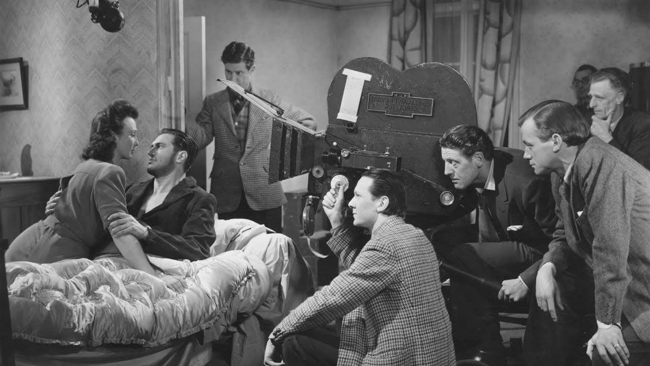 Filming It Always Rains on Sunday (1947) Behind the Scenes