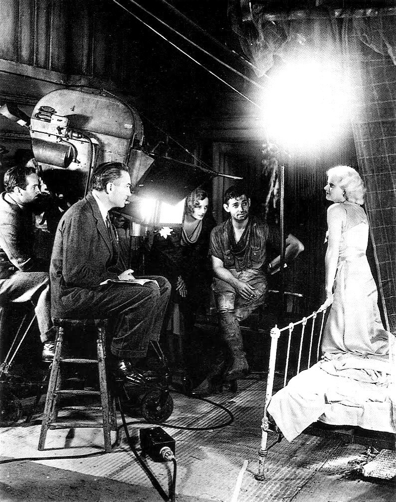 On Set of Red Dust (1932) Behind the Scenes
