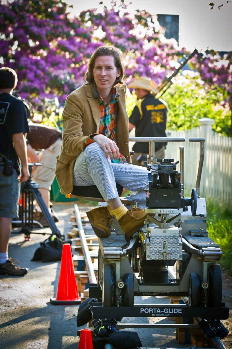 Moonrise Kingdom Behind the Scenes Photos & Tech Specs