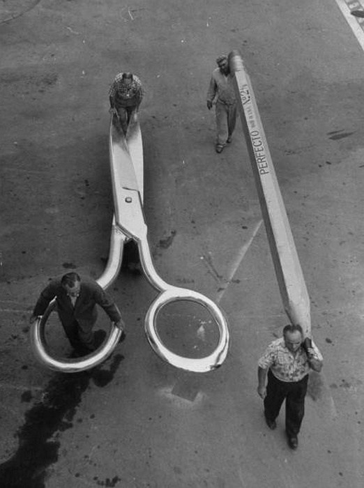 From the Film The Incredible Shrinking Man (1957) Behind the Scenes