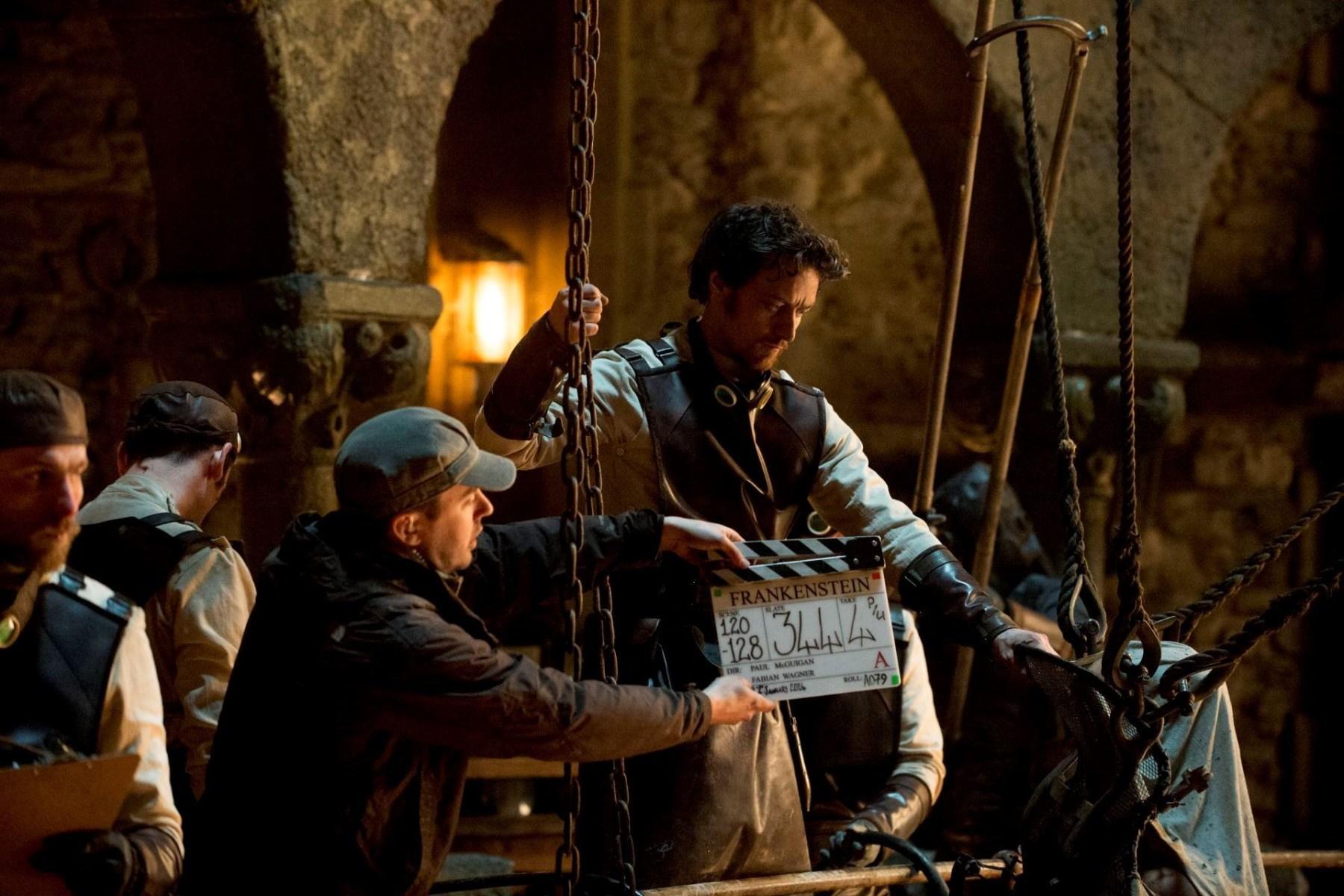 On the Set of Victor Frankenstein (2015) Behind the Scenes