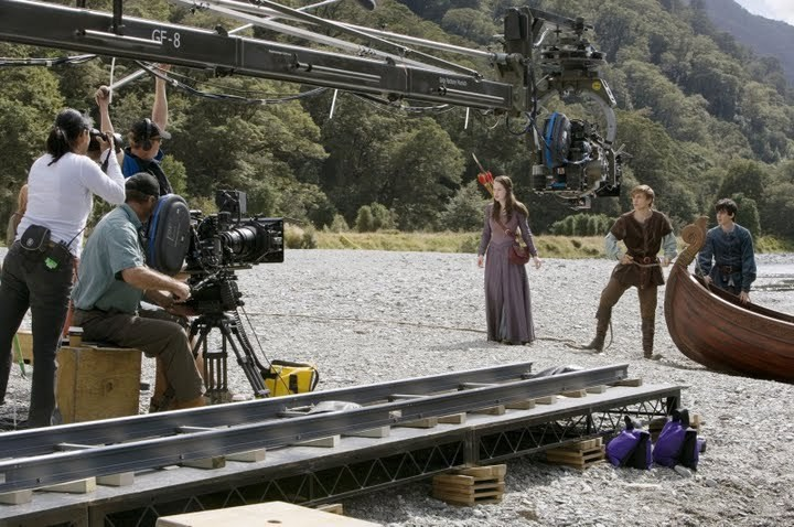 From the Film The Chronicles of Narnia: Prince Caspian (2008) Behind the Scenes