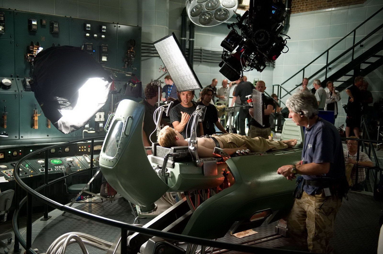 Captain America: The First Avenger Behind the Scenes Photos & Tech Specs