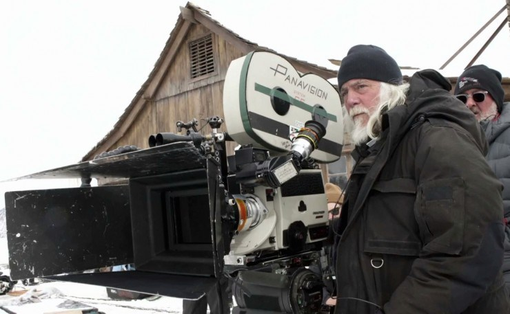 Robert Richardson : The Hateful Eight (2015) Behind the Scenes
