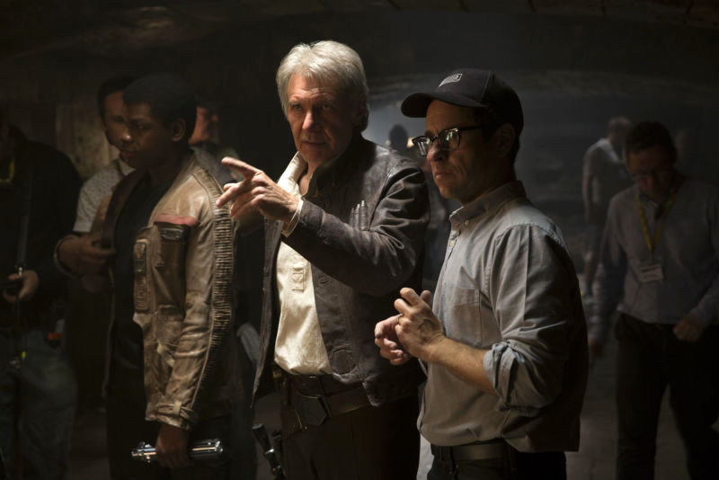 From the Film Star Wars Episode VII Behind the Scenes