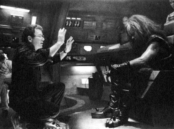 From the Film Star Trek : The Final Frontier (1989) Behind the Scenes