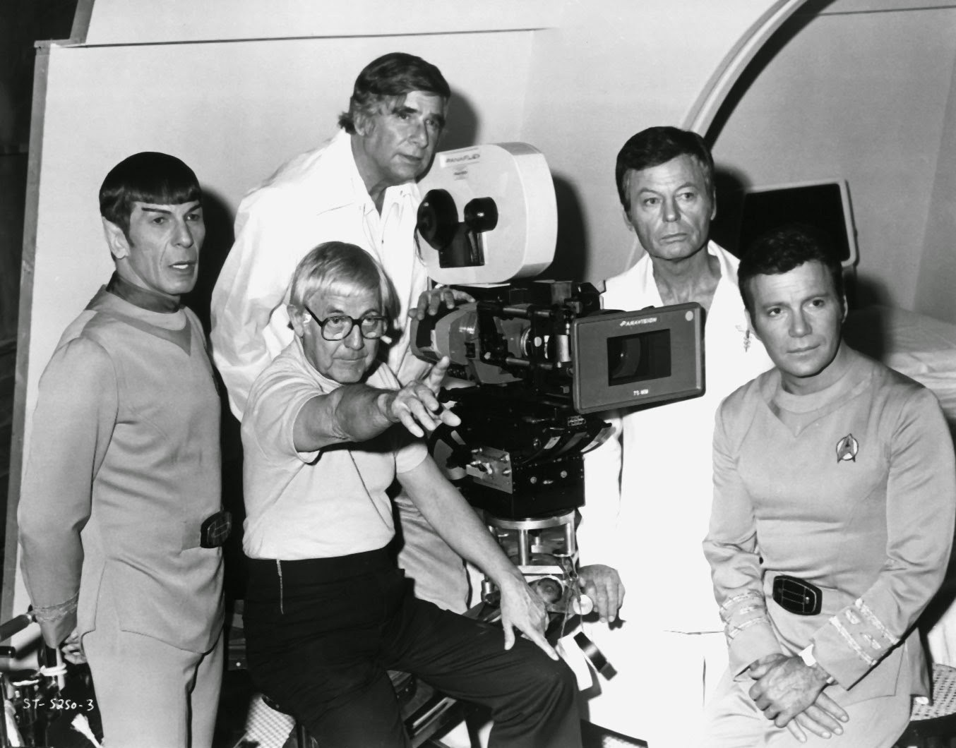 On Set of Star Trek : The Motion Picture (1979) Behind the Scenes