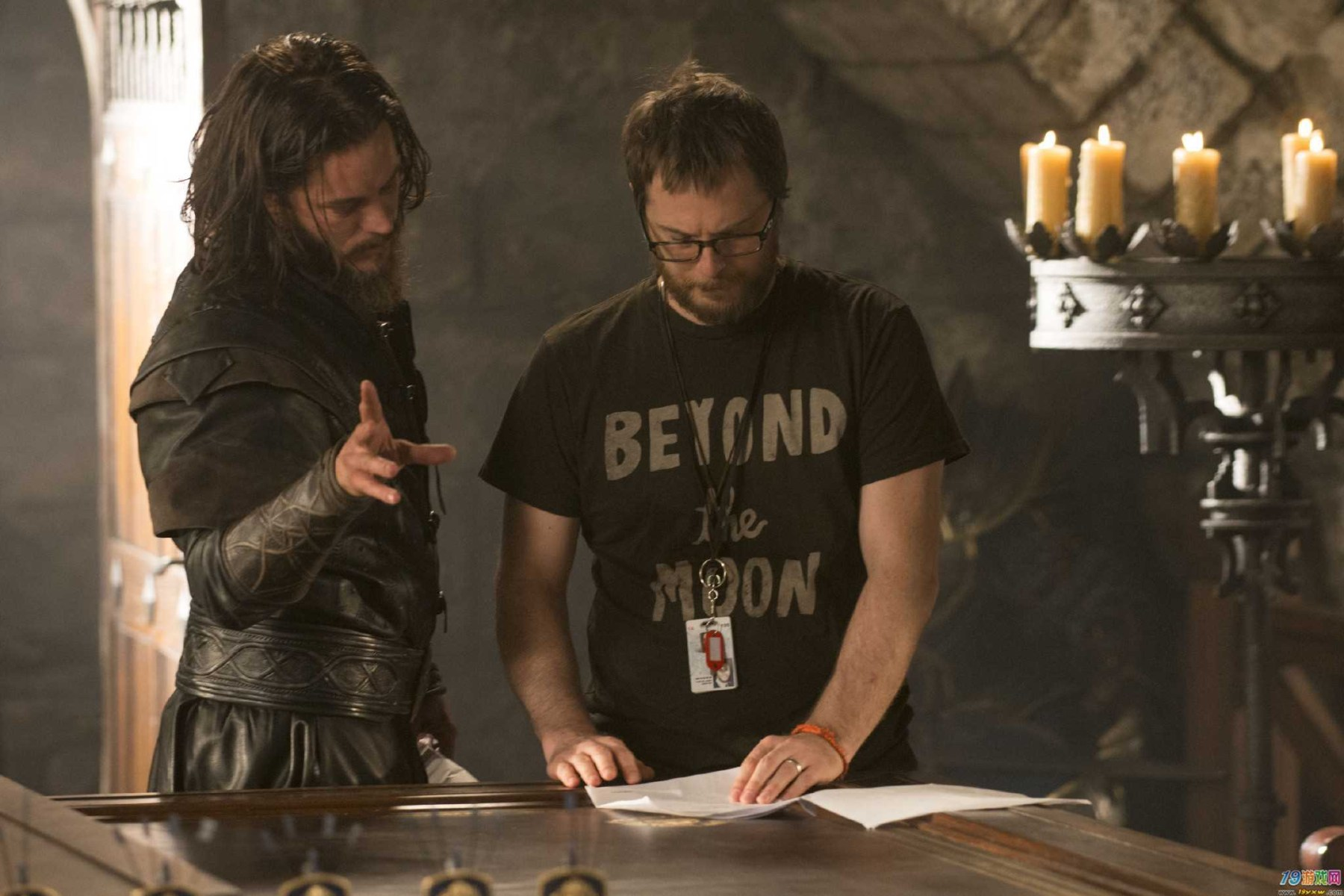 Travis and Duncan Behind the Scenes