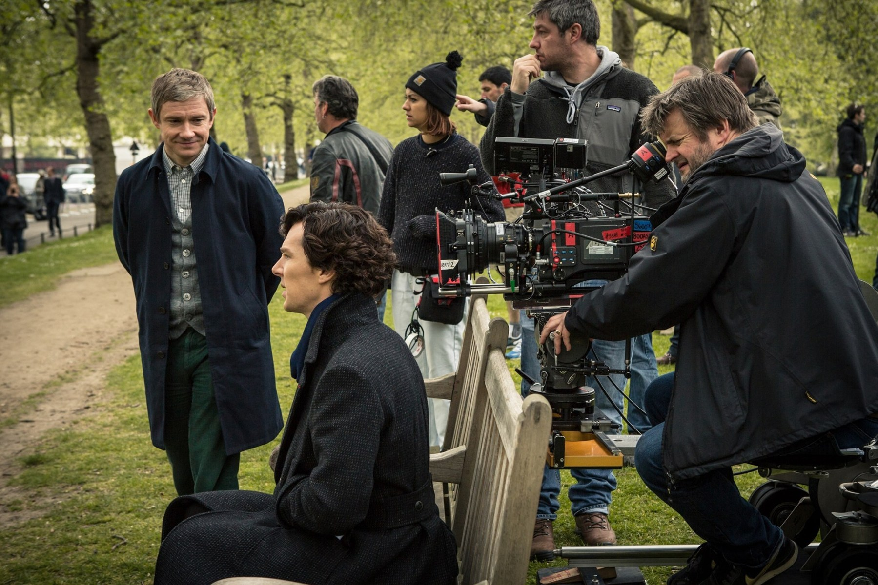 Sherlock Behind the Scenes Photos & Tech Specs