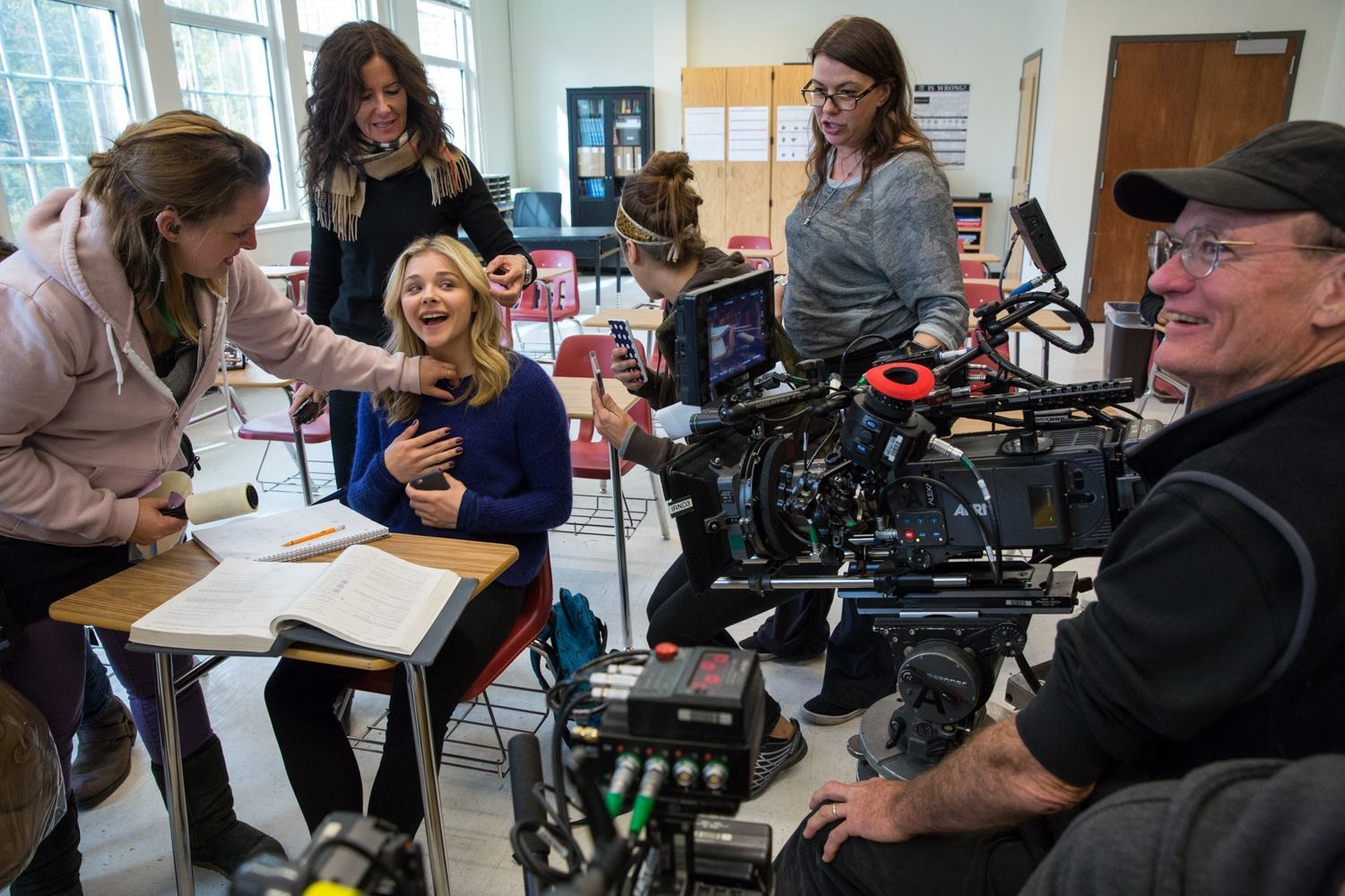The 5th Wave Behind the Scenes Photos & Tech Specs