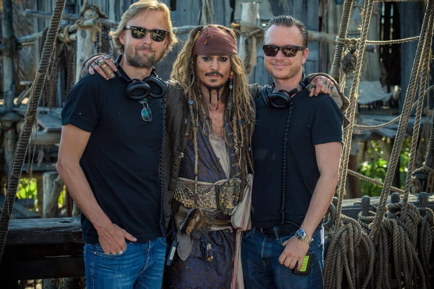 Pirates of the Caribbean: Dead Men Tell No Tales Behind the Scenes Photos & Tech Specs