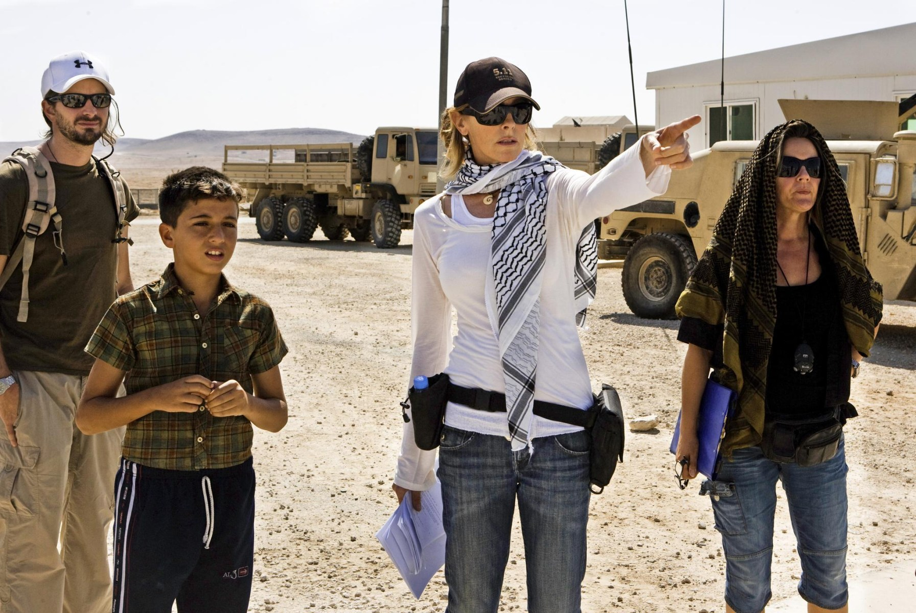 Kathryn Bigelow Directs Behind the Scenes