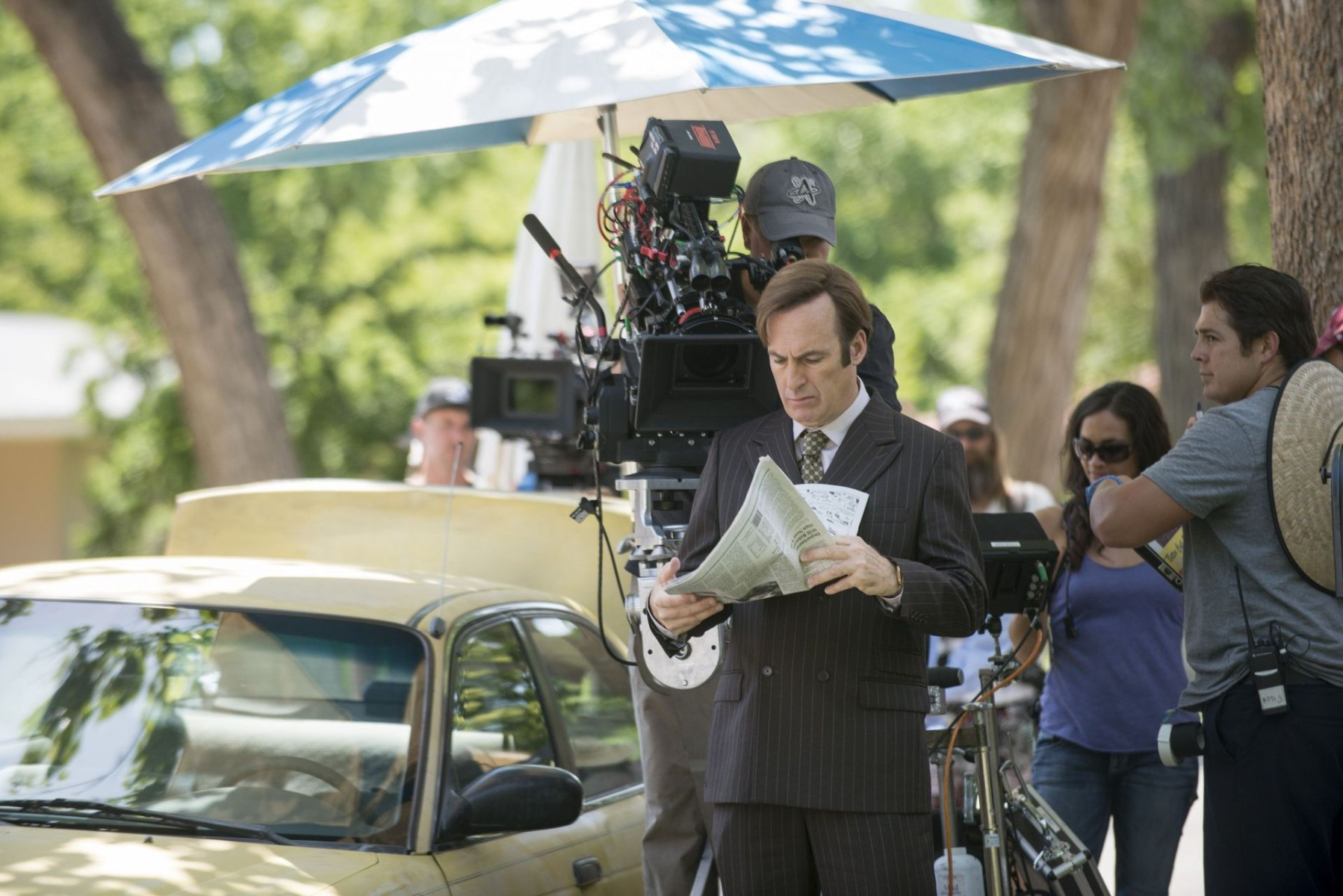 Better Call Saul Behind the Scenes Photos & Tech Specs