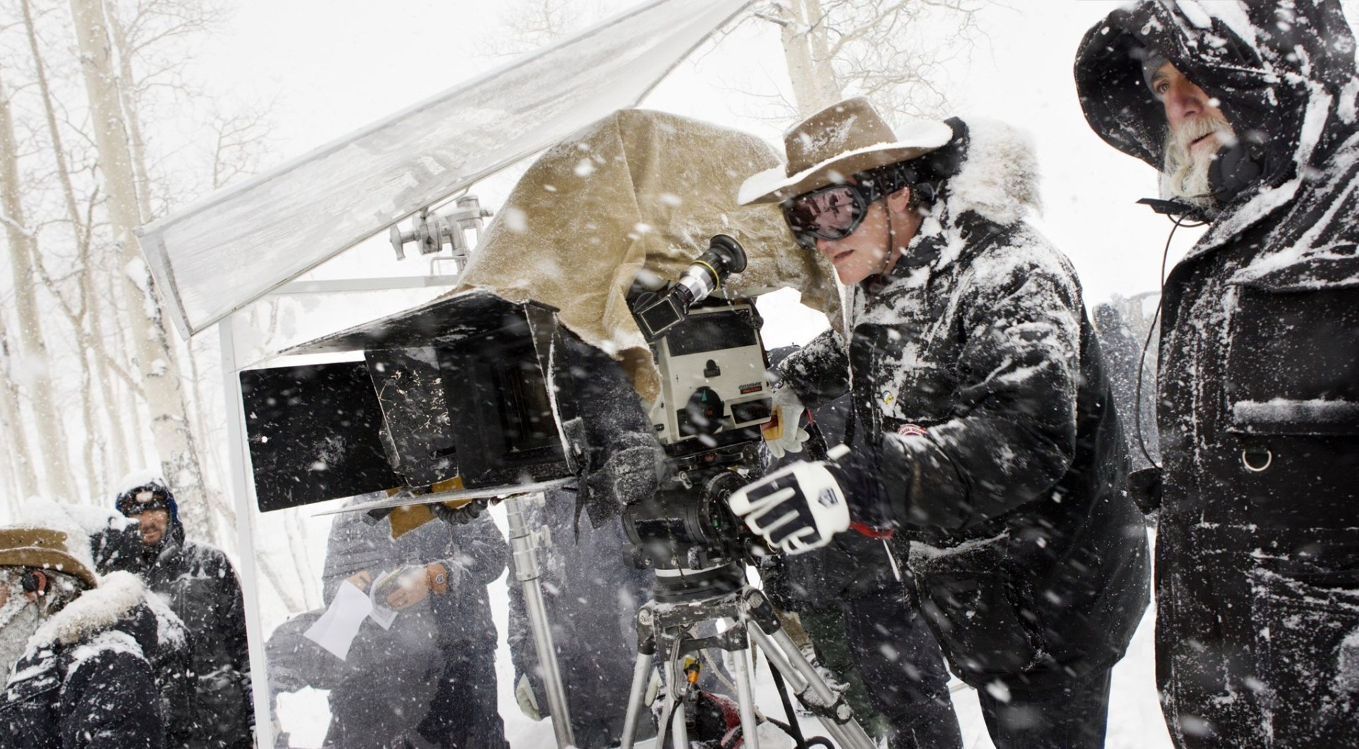 Shooting in Snow Behind the Scenes