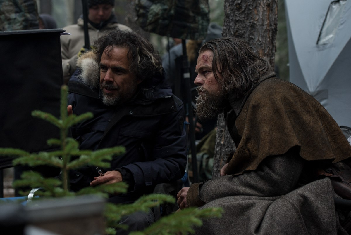 On Set of The Revenant (2015) Behind the Scenes