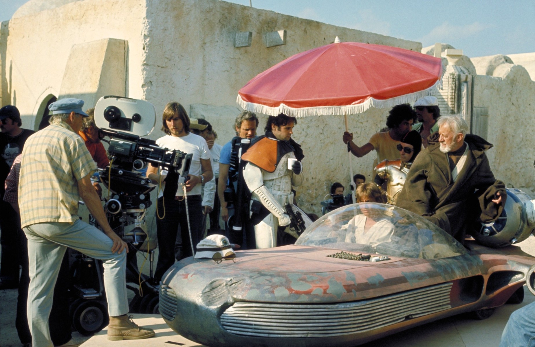 On Location : Star Wars (1977) Behind the Scenes