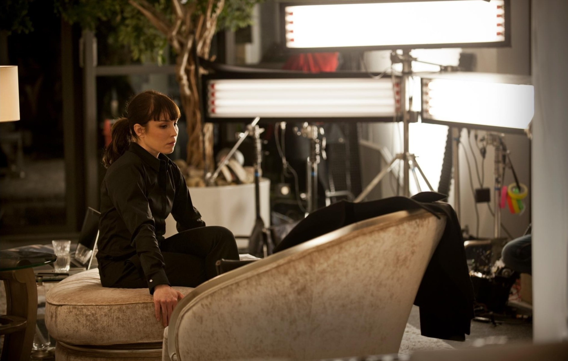 Noomi in Passion (2013) Behind the Scenes