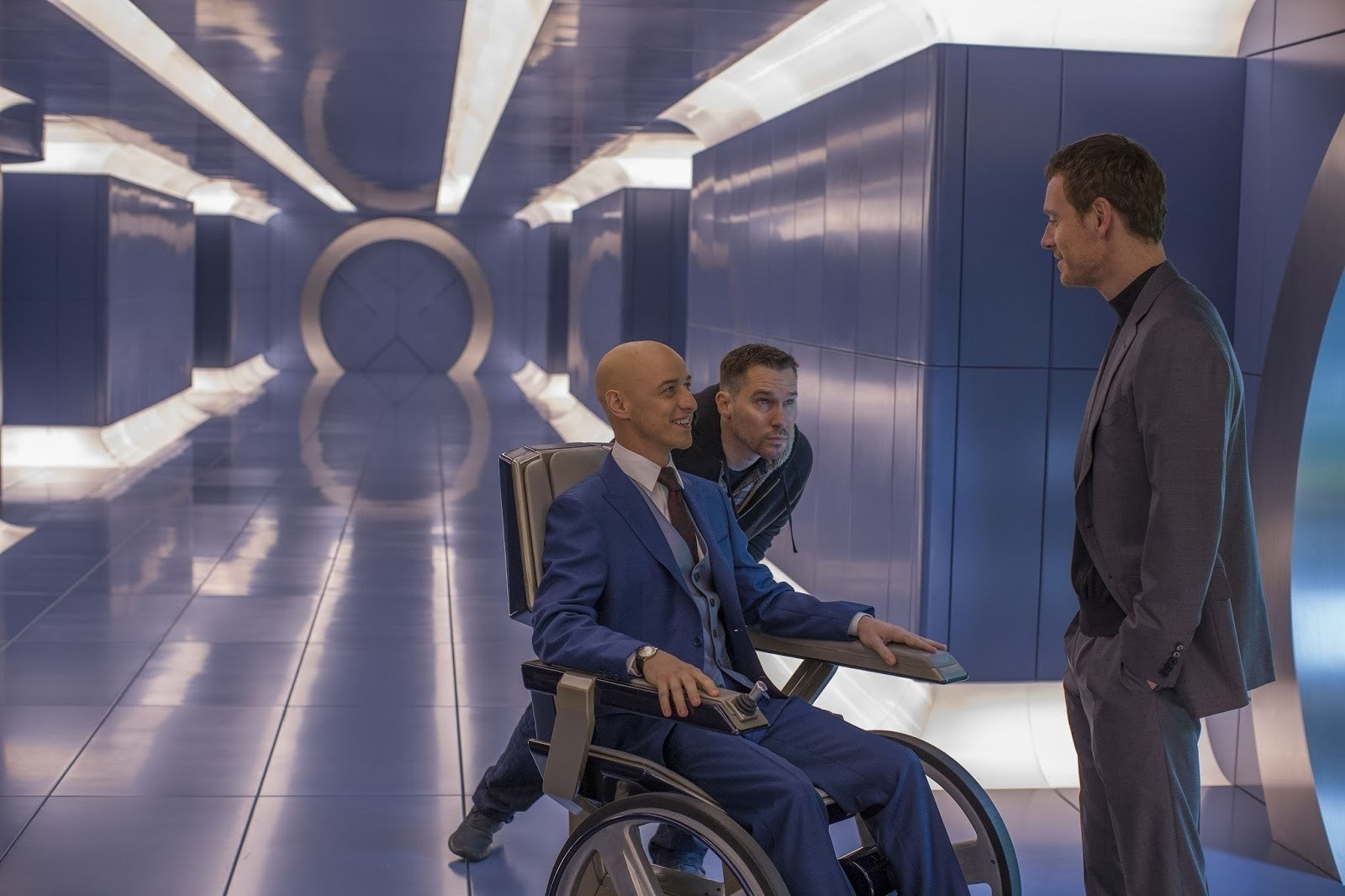 On Set of X-Men: Apocalypse (2016) Behind the Scenes