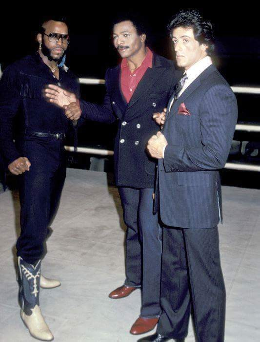 From the Film Rocky III (1982) Behind the Scenes