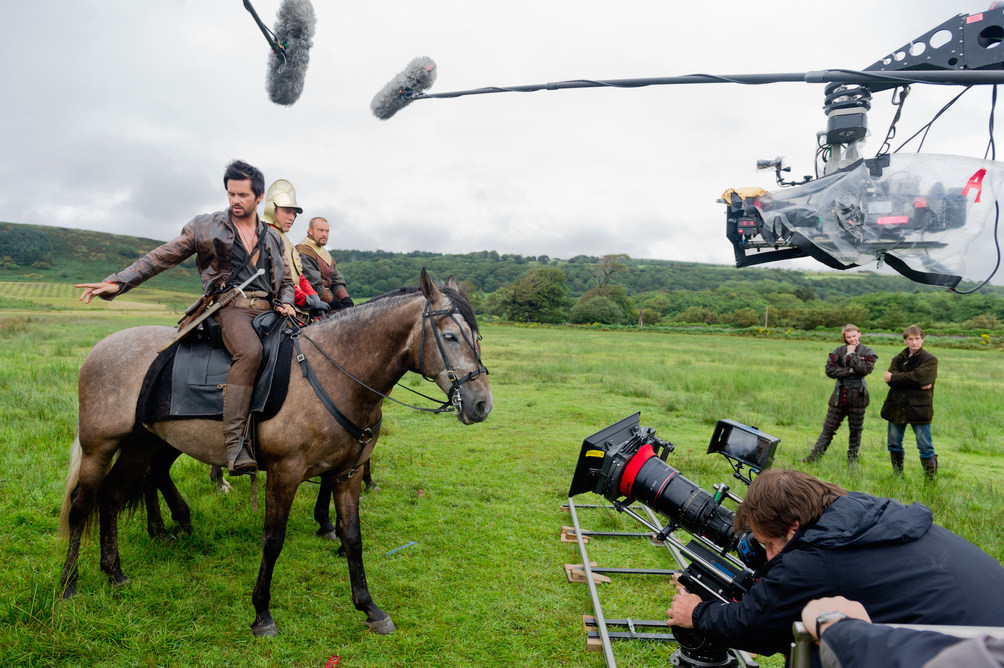 Filming Da Vinci's Demons (2013) Behind the Scenes