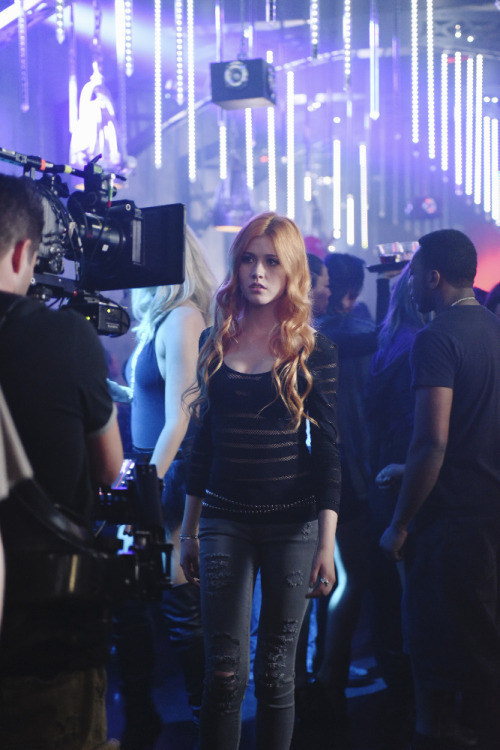 On Set of Shadowhunters (2016) Behind the Scenes