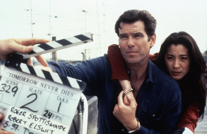 Tomorrow Never Dies Behind the Scenes Photos & Tech Specs