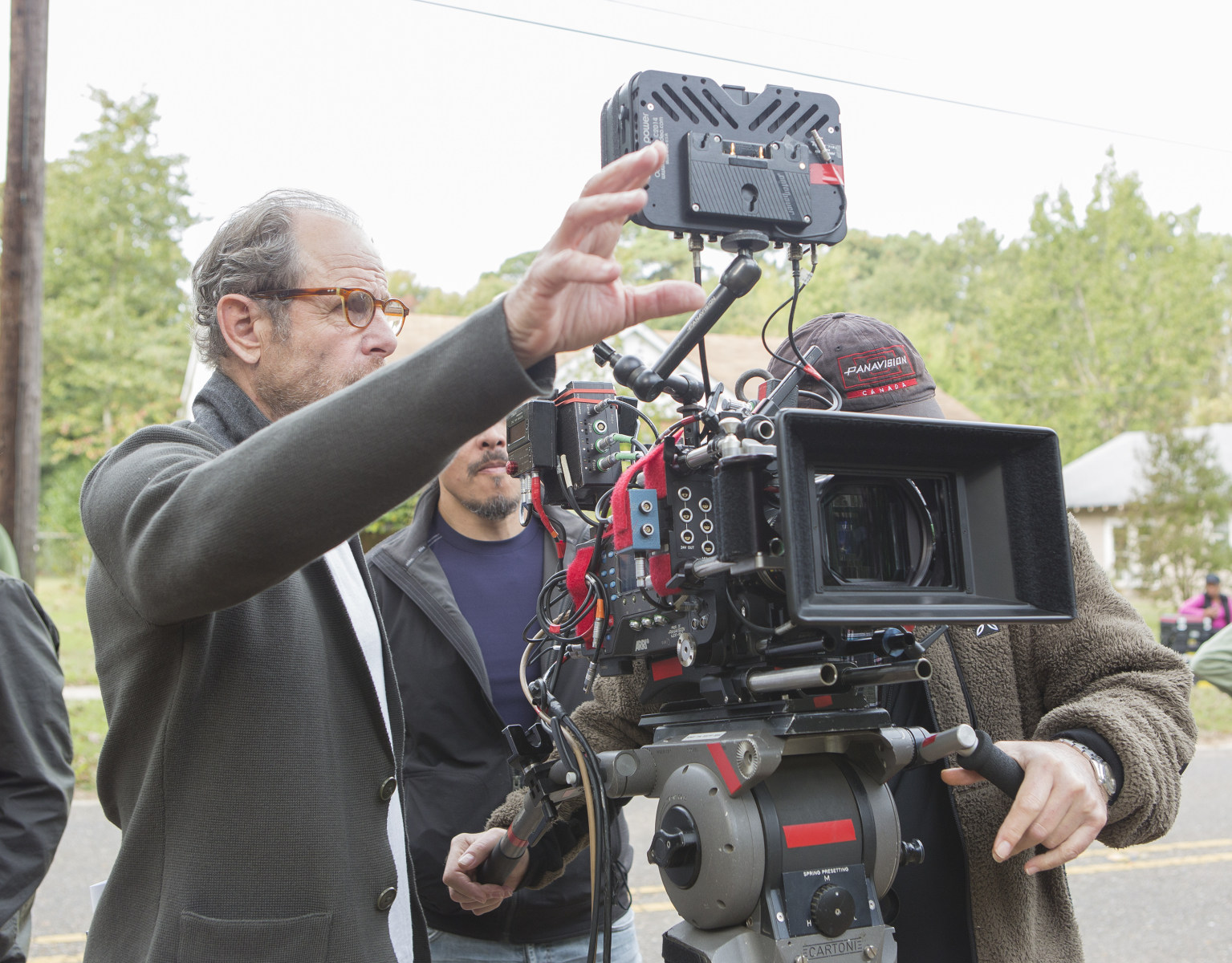 Marc Abraham Directs Behind the Scenes