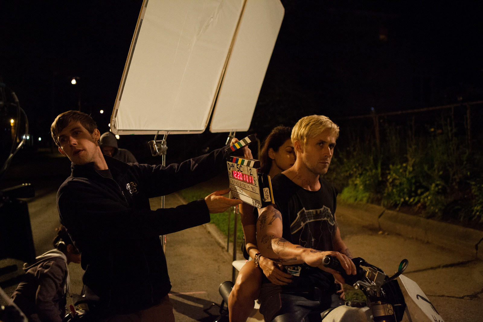 The Place Beyond the Pines Behind the Scenes Photos & Tech Specs