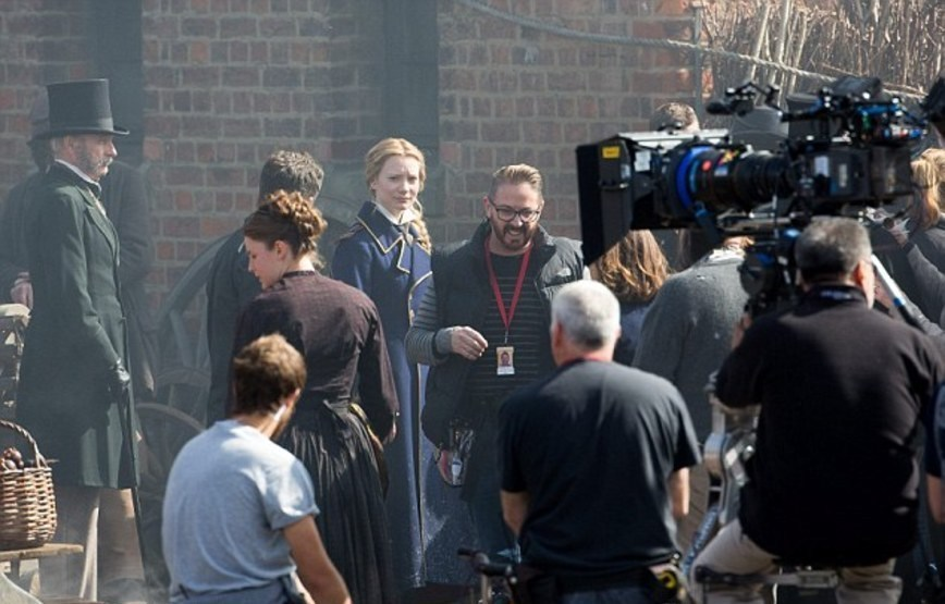 On Set of Alice Through the Looking Glass (2016) Behind the Scenes