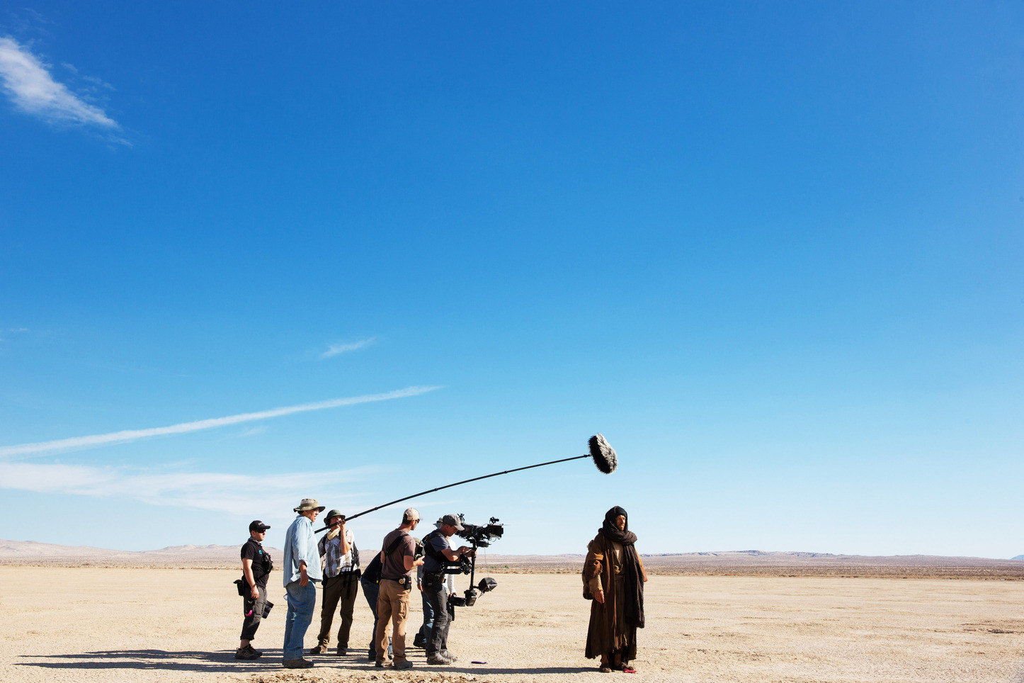 Filming Last Days in the Desert (2015) Behind the Scenes