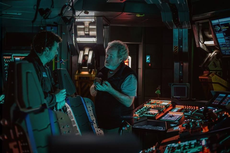 On Set of Alien: Covenant (2017) Behind the Scenes