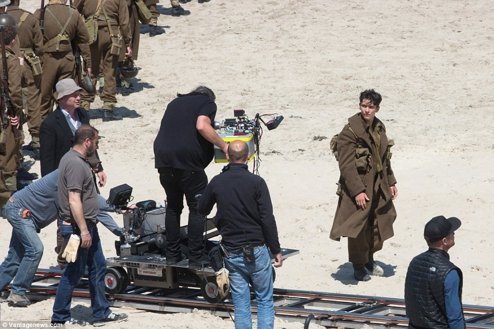 Dunkirk Behind the Scenes Photos & Tech Specs