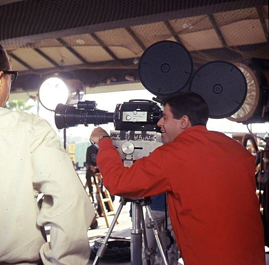 Jerry Lewis Directs Behind the Scenes