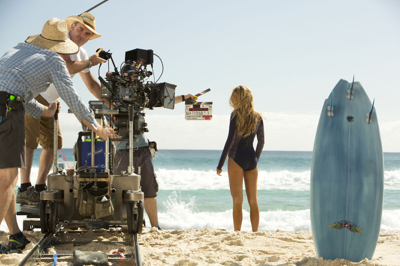 Blake Lively in The Shallows (2016) Behind the Scenes