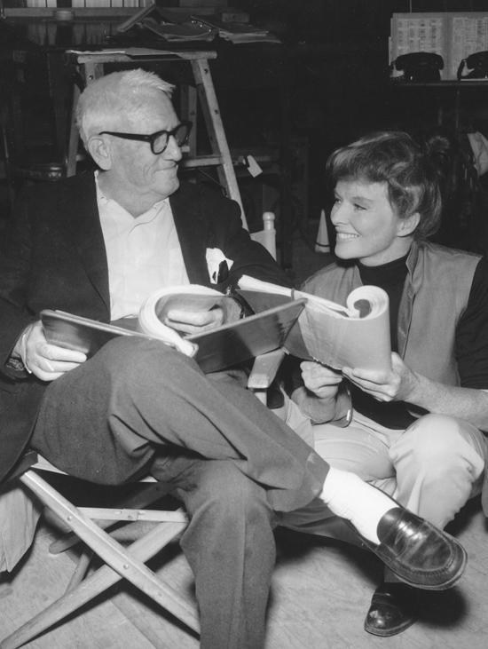 Spencer Tracy and Katherine Hepburn Behind the Scenes